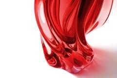 röd vase Royaltyfri Fotografi