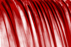 röd vattenfall Fotografering för Bildbyråer
