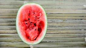 röd vattenmelon Arkivfoton