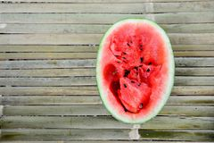röd vattenmelon Royaltyfri Foto