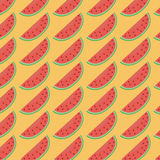Röd vattenmelonmodell Royaltyfria Foton