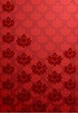 röd vertical för glamourmodell vektor illustrationer