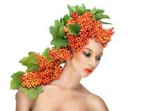Röd viburnum Royaltyfria Bilder