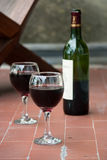 Röd vine Arkivfoton
