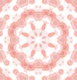 Röd vit för sömlös blom- modell Royaltyfria Bilder