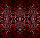 Röd vit för sömlös diamantmodellbrunt Arkivbilder