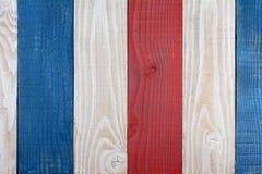 Röd vit- och blåttbrädebakgrund Royaltyfri Foto