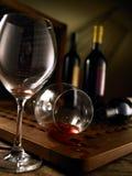 röd vit wine royaltyfri bild