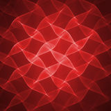 röd wave Arkivfoton