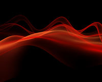 röd wave Royaltyfri Bild