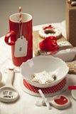 röd white Royaltyfri Foto