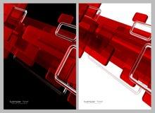 röd white för abstrakt bakgrundsblack vektor illustrationer