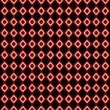 röd white för abstrakt diamanter Royaltyfria Bilder