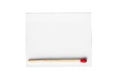 röd white för askmatch Royaltyfria Bilder