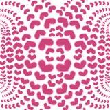 röd white för bakgrundshjärta royaltyfri illustrationer