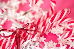 röd white för godisrottingjul Royaltyfria Foton