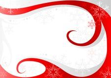 röd white för jul Arkivbilder