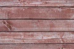 Röd Wood textur Royaltyfri Foto