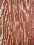 Röd Wood textur Fotografering för Bildbyråer