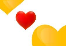 röd y-yellow Royaltyfri Fotografi