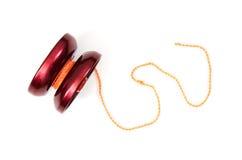 Röd yoyo Fotografering för Bildbyråer