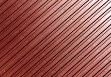 Röd yttersida för metallplatta Arkivfoto