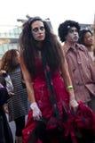 Röd Zombie Arkivfoto