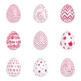 röda ägg Arkivfoton