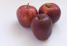Röda äpplen Arkivbilder