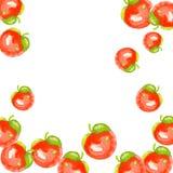 röda äpplen royaltyfri illustrationer
