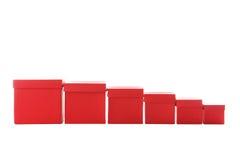 Röda askar Arkivbild