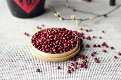 Röda bönor Arkivbild
