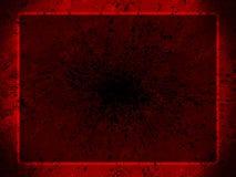 röda bakgrundsgrungepres stock illustrationer