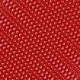 röda bakgrundshjärtor Stock Illustrationer