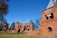 Röda barns slott i Pinsk Arkivbild