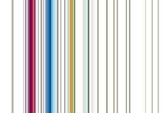 Röda, beigea, gröna vita linjer, abstrakt färgrik bakgrund Arkivfoto