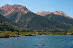 röda berg Royaltyfria Foton