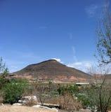Röda berg av St George Utah Royaltyfri Foto
