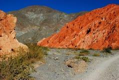 röda berg ii Royaltyfri Bild