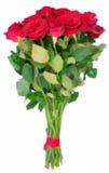 Röda blommas ro royaltyfri illustrationer