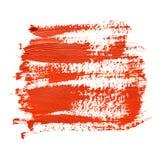 Röda borsteslaglängder Arkivbilder