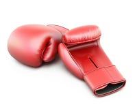 röda boxninghandskar Royaltyfria Foton