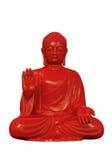 Röda Buddha Royaltyfria Bilder