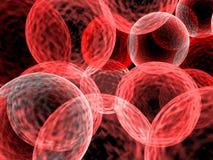 Röda celler stock illustrationer