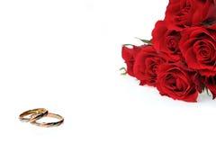 röda cirkelro Royaltyfri Fotografi
