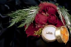 röda cirkelro för diamanter Royaltyfri Foto
