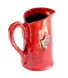 Röda Clay Vessels royaltyfria bilder
