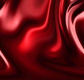 Röda förhängear Arkivbilder