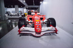 Röda Ferrari 2006 248 F1 Royaltyfri Bild