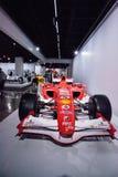 Röda Ferrari 2006 248 F1 Arkivbild